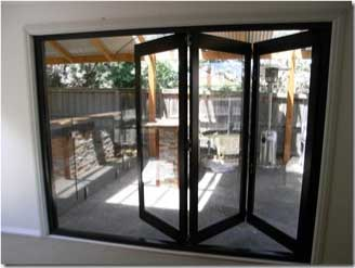 Aluminium Glass Bi-fold doors